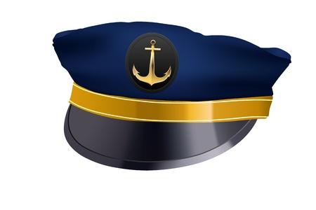 captain hat: captain hat with cockade