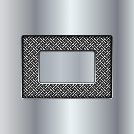 metal background Stock Vector - 22774217
