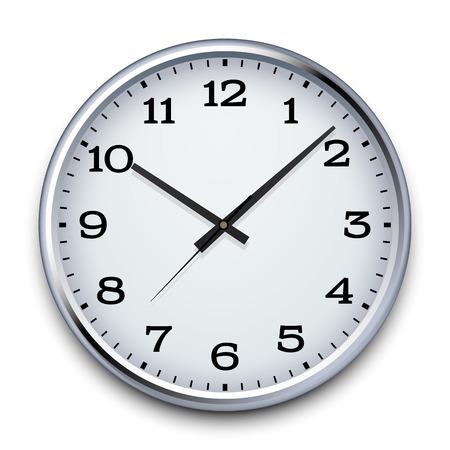 reloj pared: Vector Reloj