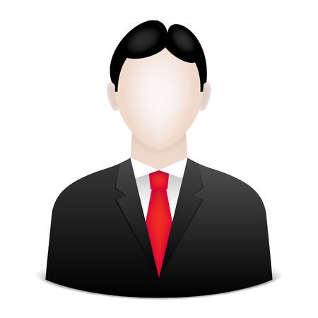 Businessman avatar,  Vector