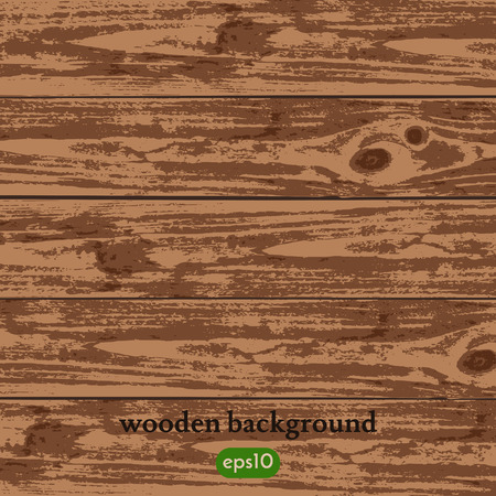 Vector wooden background