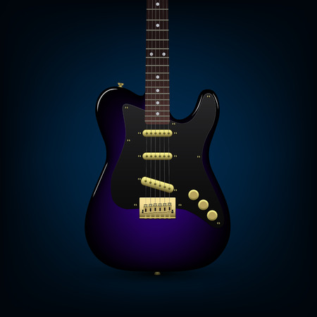 melodist: Electric guitar Illustration