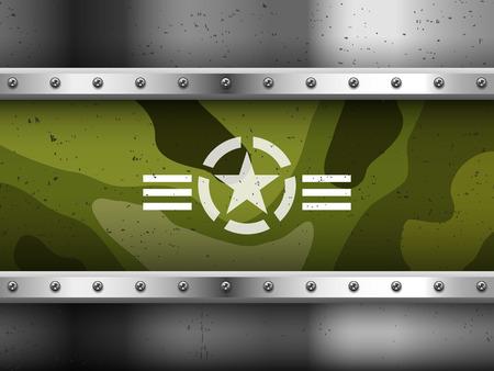 estrellas  de militares: Fondo militar