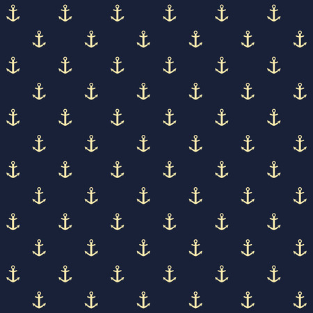 Seamless background with anchor