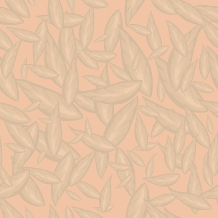 beige leaves Illustration