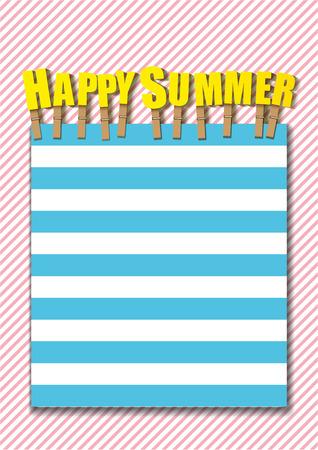 happy summer: happy Summer background