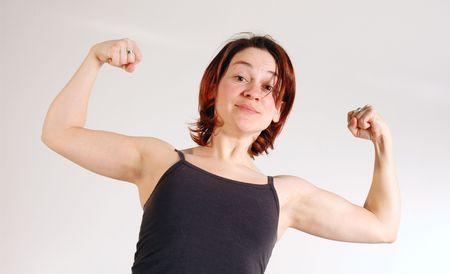habbit: woman Stock Photo