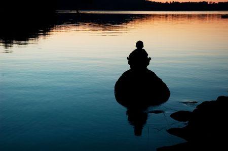 meditate photo