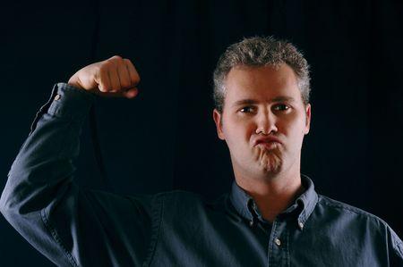 Tough guy Stock Photo - 289543