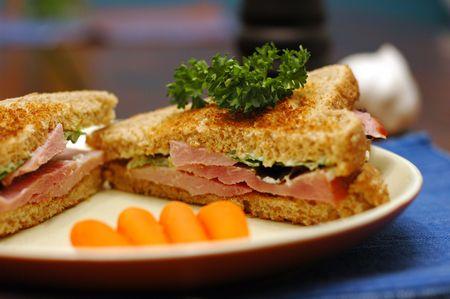 plato del buen comer: alimento Foto de archivo