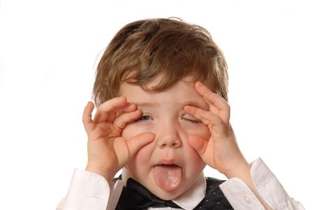 alter: not feeling well Stock Photo