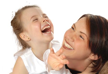 family portrait laughing Stock Photo - 376012