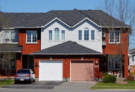 semi-detached homes photo