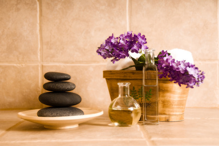 day spa products for alternative medicine Stock Photo - 1380040