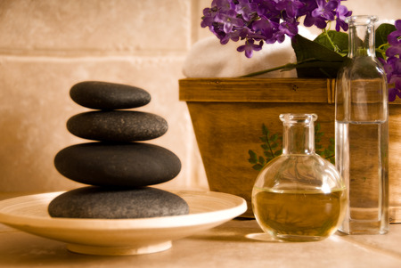 day spa products for alternative medicine Stock Photo - 1380038