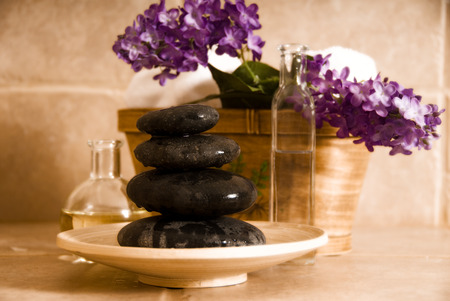 day spa products for alternative medicine Stock Photo - 1380035