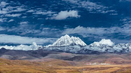 Yala Snow Mountain scenery