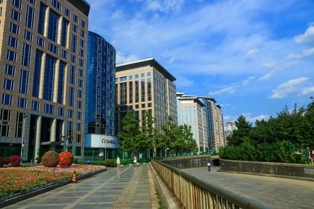 Beautiful scenery in beijing city Editorial