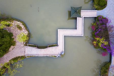 spring of slender west lake in Yangzhou China