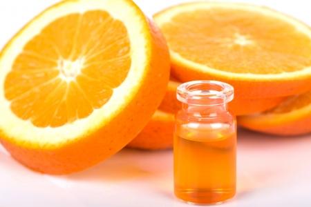 Orange essential oil Stock Photo - 22669807