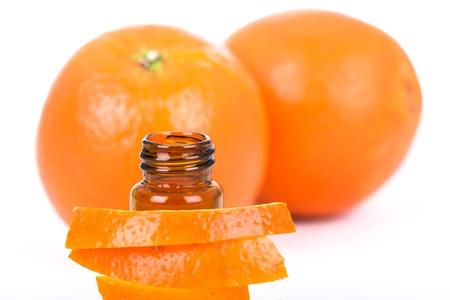 Orange essential oil Stock Photo - 22669827