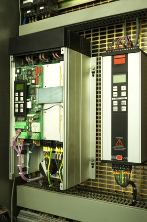 transducer: Variable speed drive inverter converter, unit for voltage stabilization