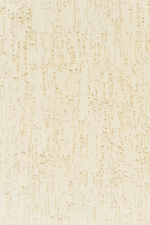 The texture of a wall of a beige solution of a wall of painted decorative cement wall with a characteristic pattern of a fur coat