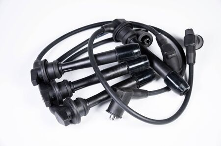 New parts for internal combustion engine. Cable set spark plug