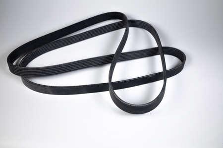 Wide poly-V bypass belt for internal combustion engine attachments. New spare alternator belt