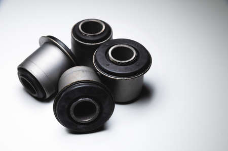 New silent blocks for car suspension. Suspension rubber bushings