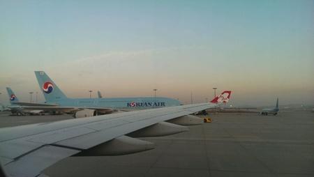 incheon: Flights in Incheon Airport