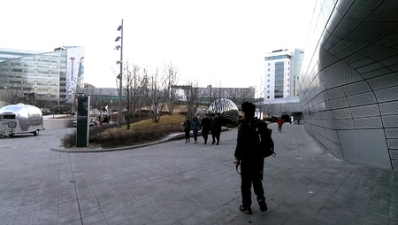 design: View of Dongdaemun Design Plaza