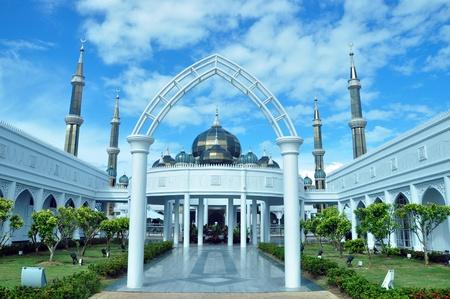 View of Masjid Kristal at Terengganu