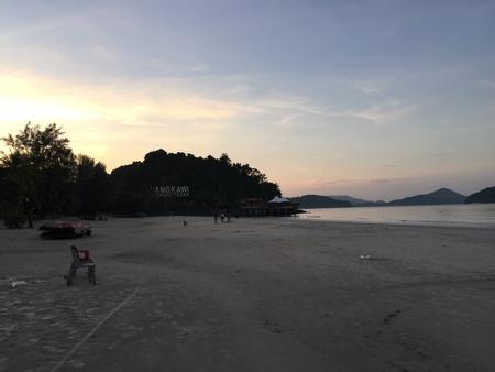 langkawi: Langkawi beach sunrise