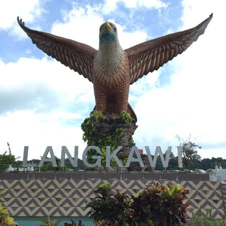 langkawi: Eagle square in Langkawi