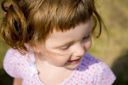 baby hairstyle: cute Baby Girl with fun hairstyle