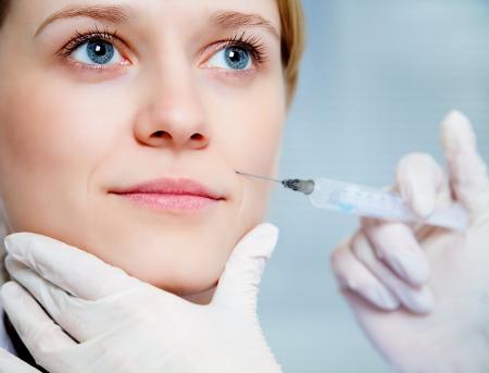 alternative health care: close-up of a woman