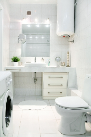 modern bathroom interior photo