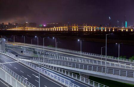 Hong Kong Zhuhai Macau bridge by Amizade in China