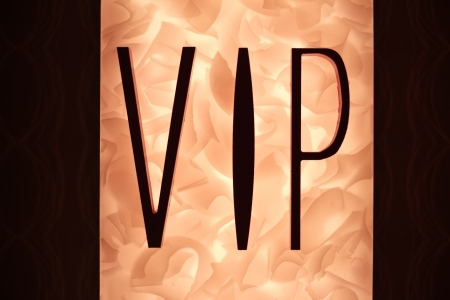 Very Important Person VIP sign with fiery Stock Photo - 24346929