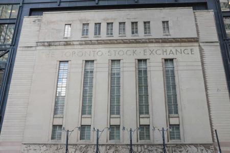TORONTO, ON - OCTOBER 24: Toronto Stock Exchange building in Toronto Canada on October 24, 2013 Editorial