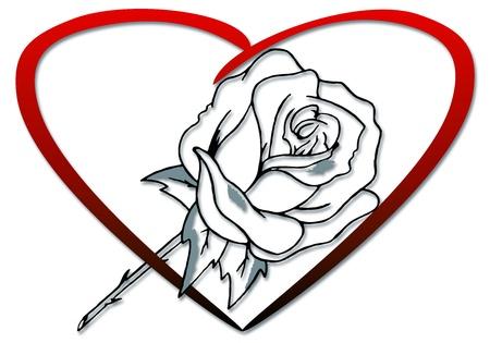 coeur: coeur rose