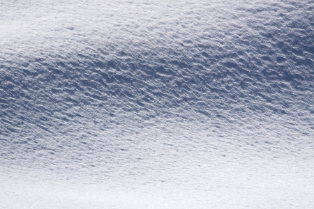 snowbanks: beautiful winter abstract background from white snow Stock Photo