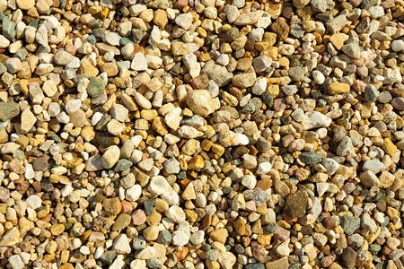 abstract background from gravel stones photo
