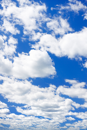 background from blue sky with white clouds. summer landscape view sky 版權商用圖片 - 120959698