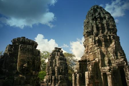 cambodge: Bayon temple in Angkor