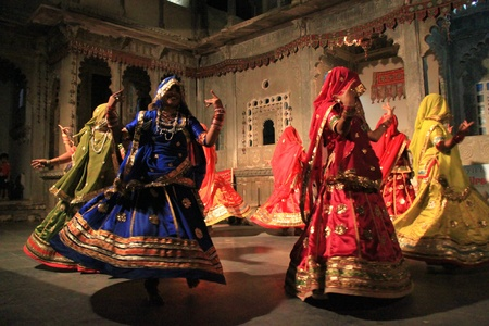 musique: Traditional rajasthani dance