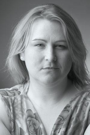 Vrouwen met een droevig meningsuiting