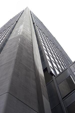 extreme angle: Extreme angle of an skycraper Stock Photo