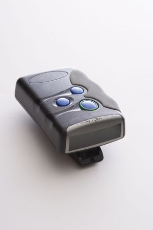 pager: Old pager with scuffed up screen